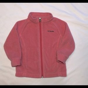 Pink Columbia Jacket Size 18-24 Months